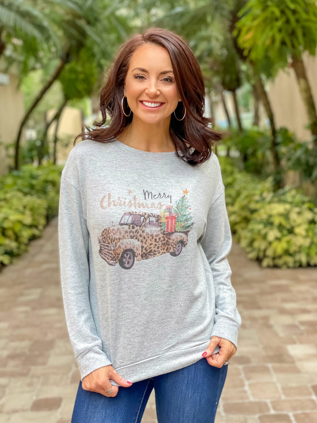 Merry Christmas Hacci Pullover