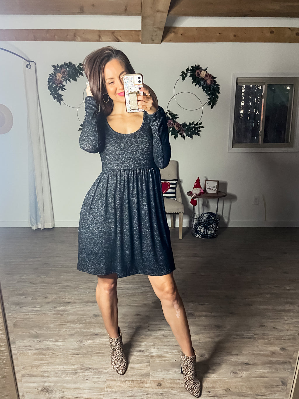 Days Made Easy Dress (Heather Black)
