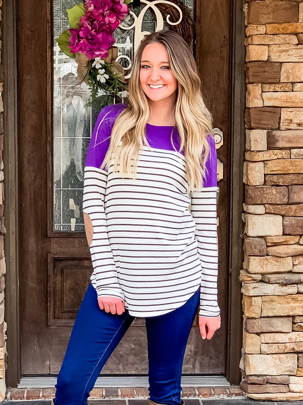 All About Stripes Top