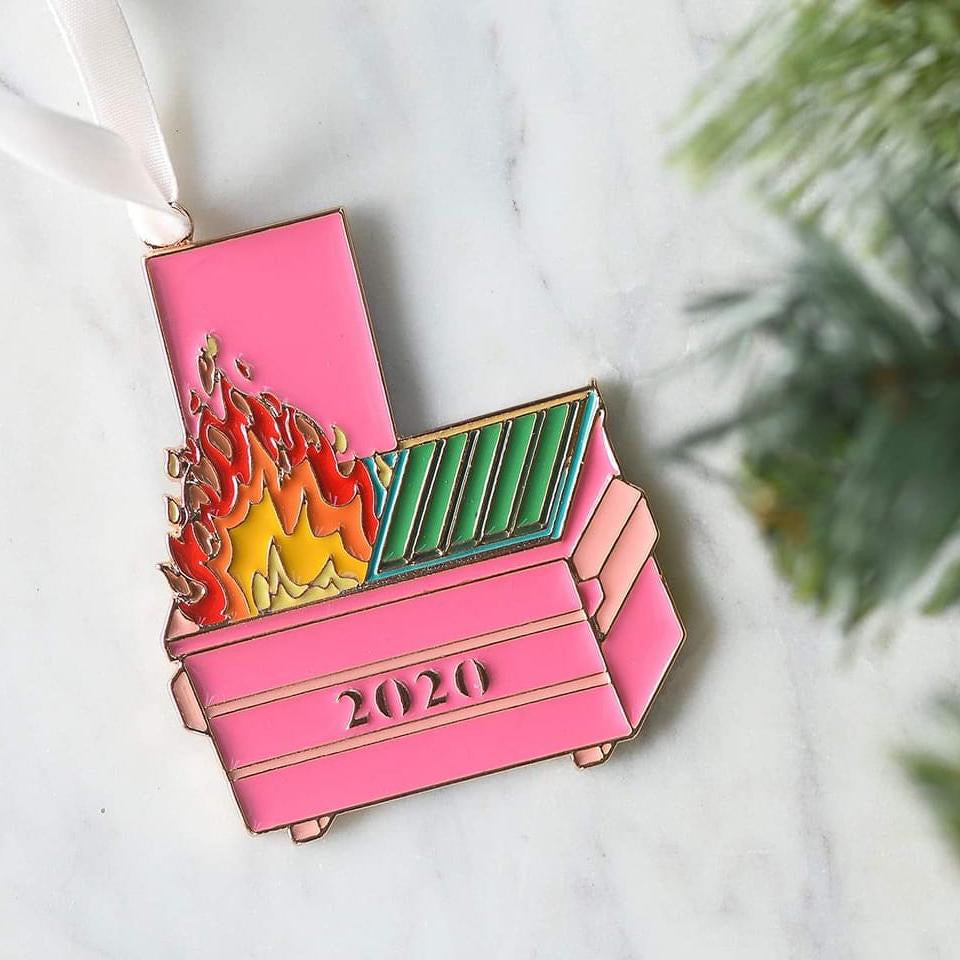 2020 Dumpster On Fire Ornament
