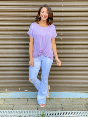 The Right Choice Top (Lavender)