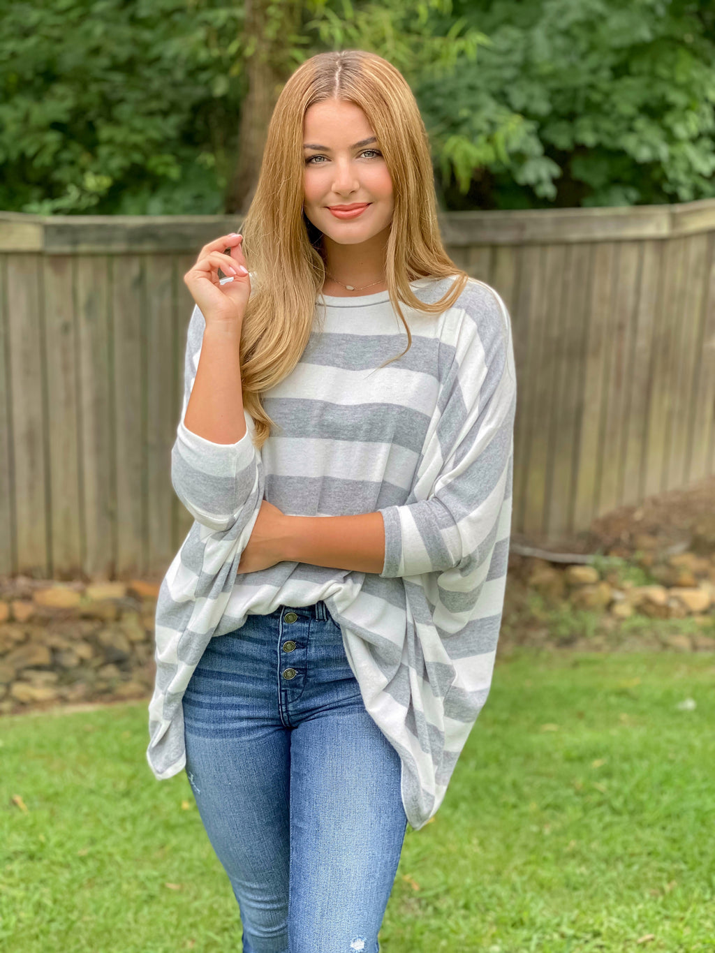 All My Love Stripe Top