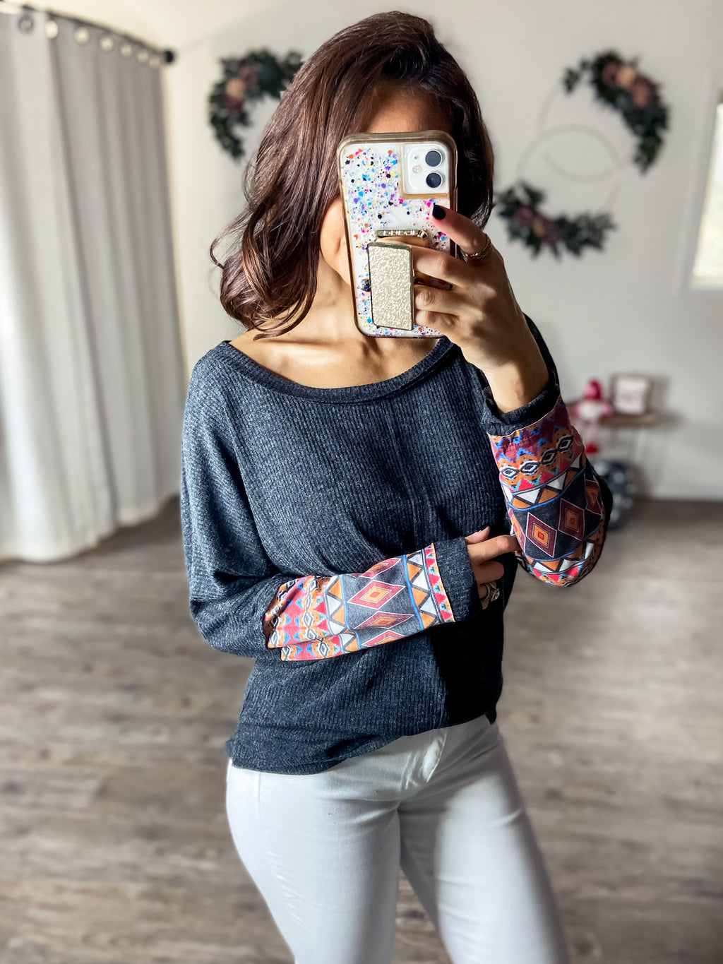 All About the Aztec Top