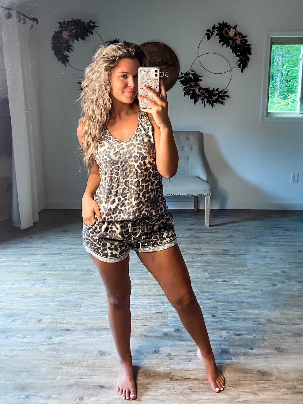 Leopard Jamz Shorts Only