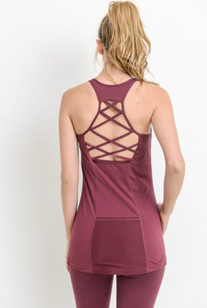 Strappy Back Performance Tank