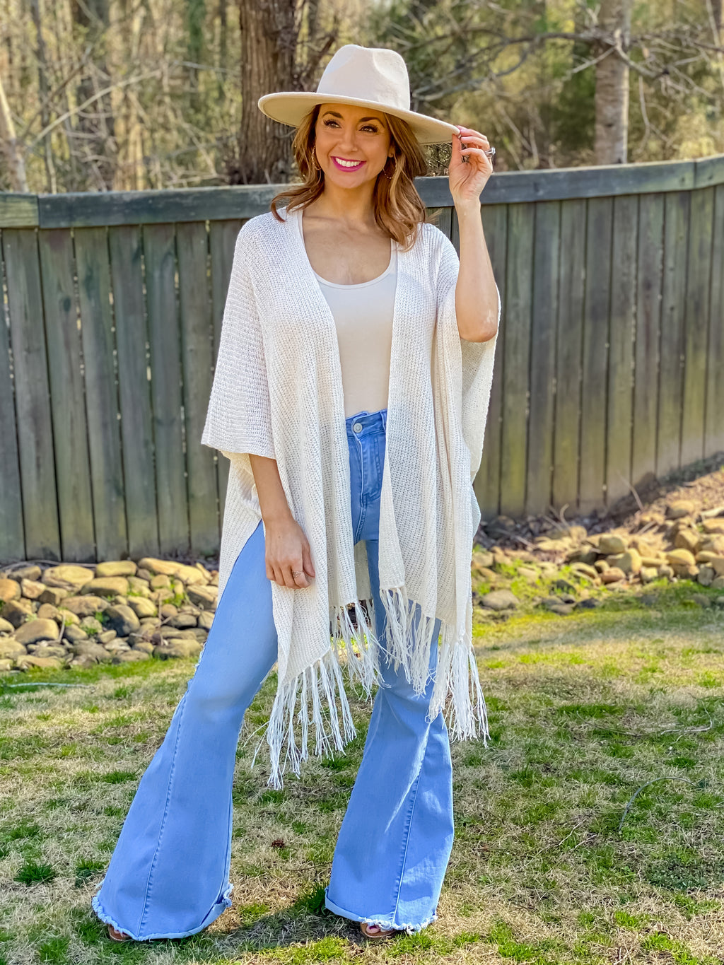 What a Lovely Day Knitted Kimono