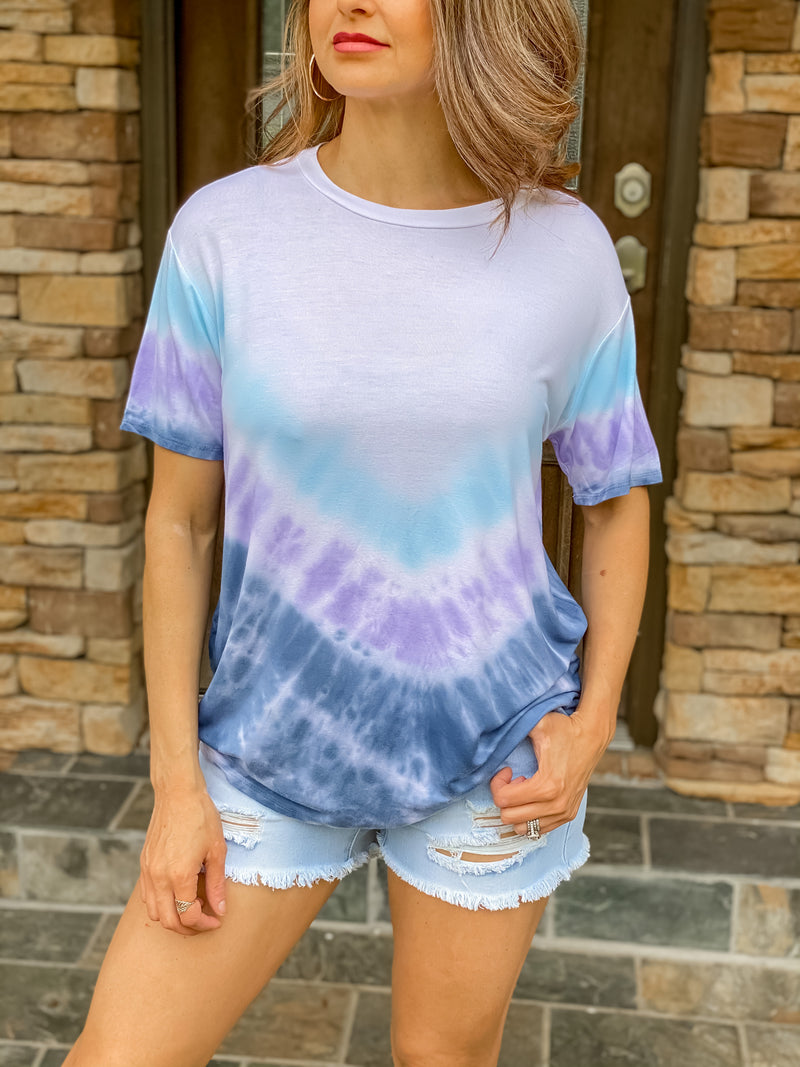 Wave to Me Tie Dye Top