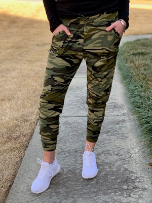 Camo Butter Joggers