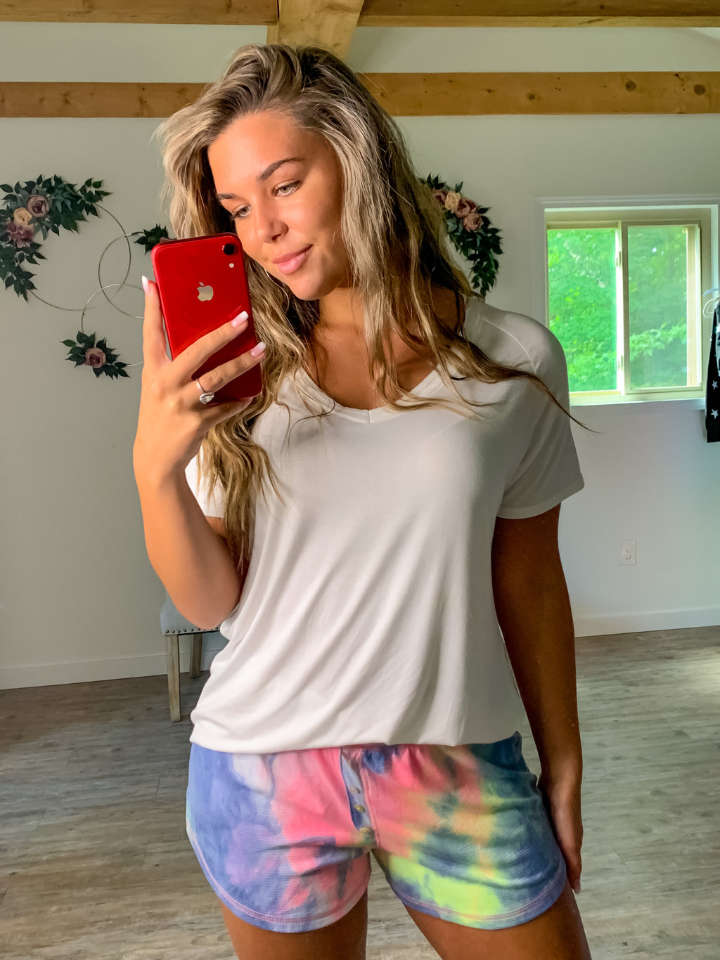 Colors of Love Tie Dye Shorts