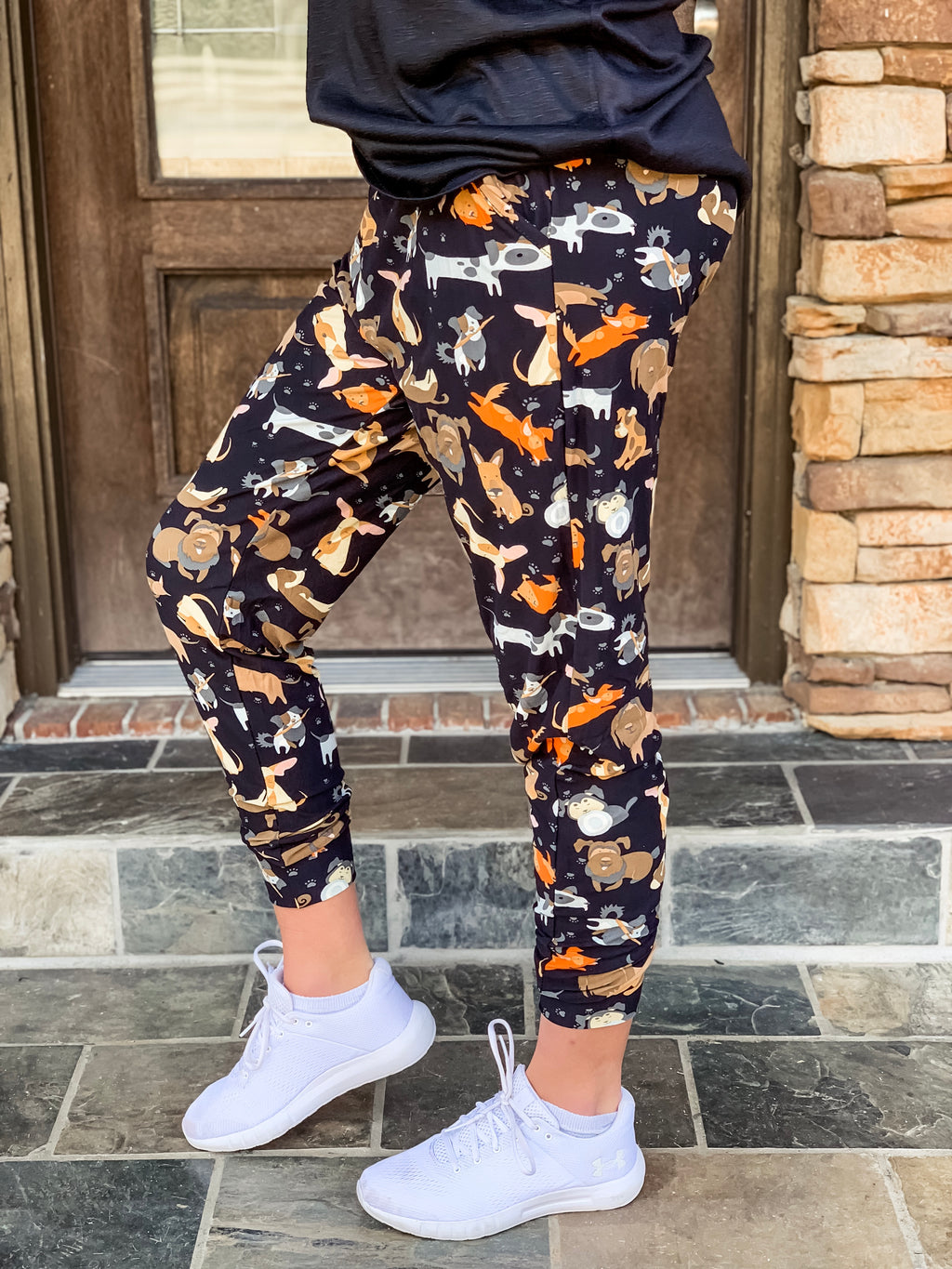 Dog Lover Butter Joggers