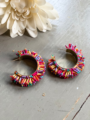 Crayon Earrings