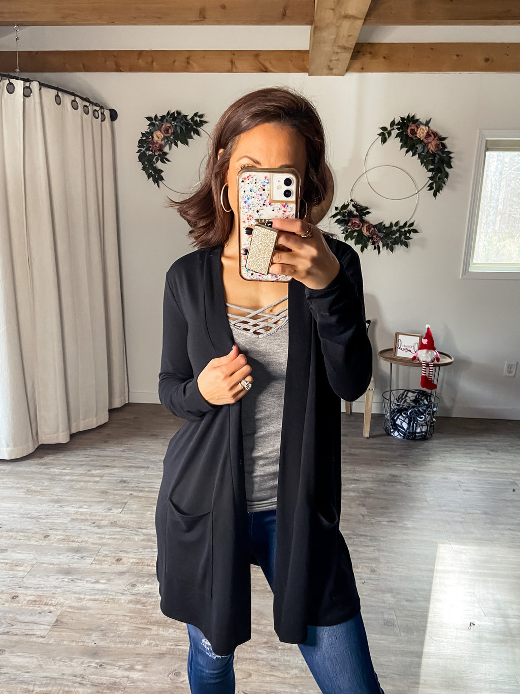 Brave The Basics Cardigan (Black)