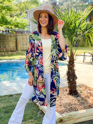 Going Tropical Places Kimono