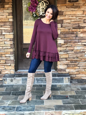 Go To Ruffle Tunic