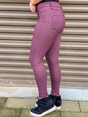 Hyperstretch For You Pants (Eggplant)