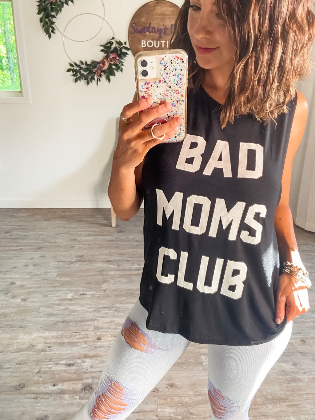 Bad Moms Club Tank