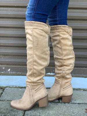 Over The Top Knee High Boots