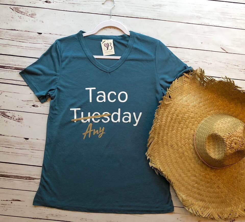Taco Anyday Graphic Tee