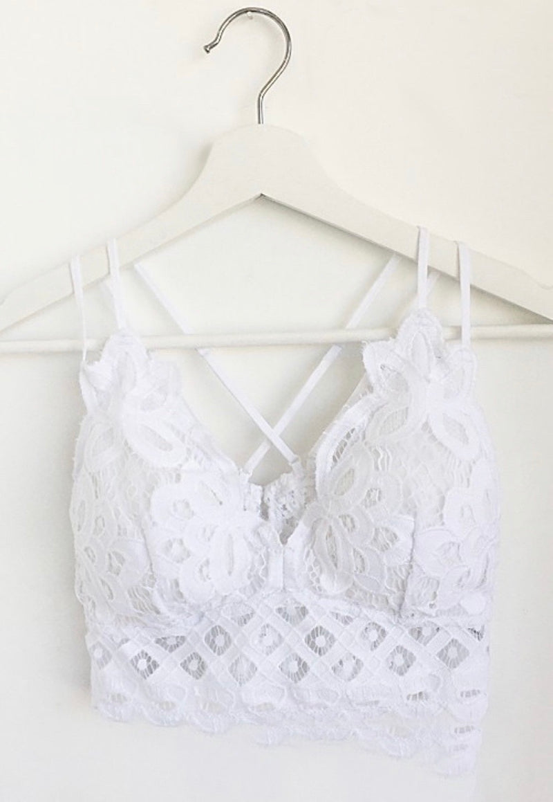 Freedom Bralette (White)