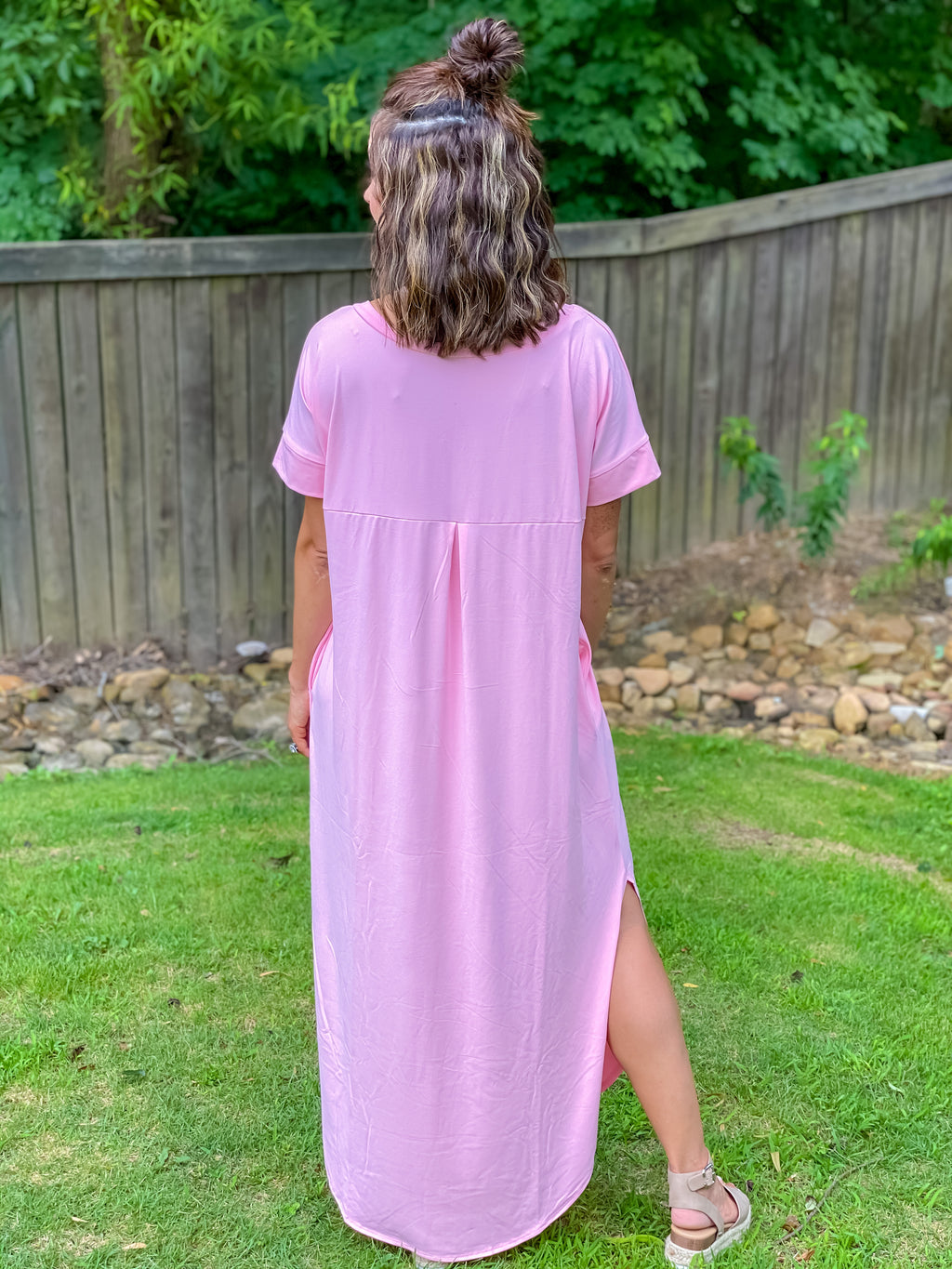 Oh So Soft Butter Maxi Dress (Pink)