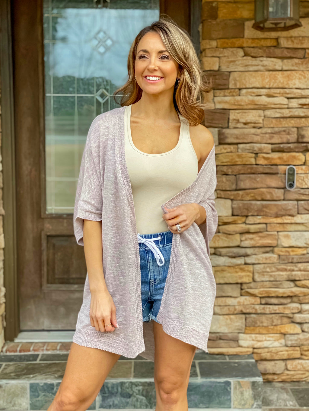 Can't Live Without You Cardigan (Light Mocha)
