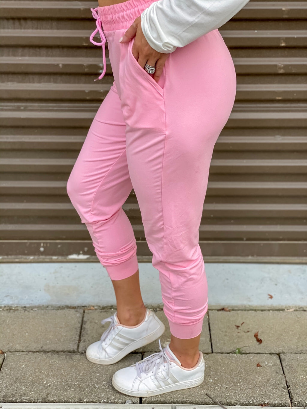 Go Pink Butter Joggers