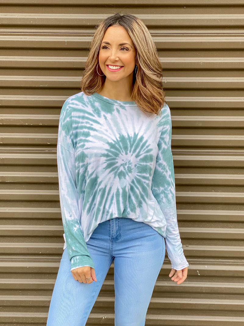 Full of Life Tie Dye Top