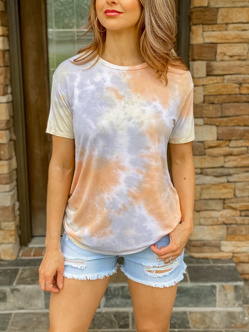 Sunset Days Tie Dye Top