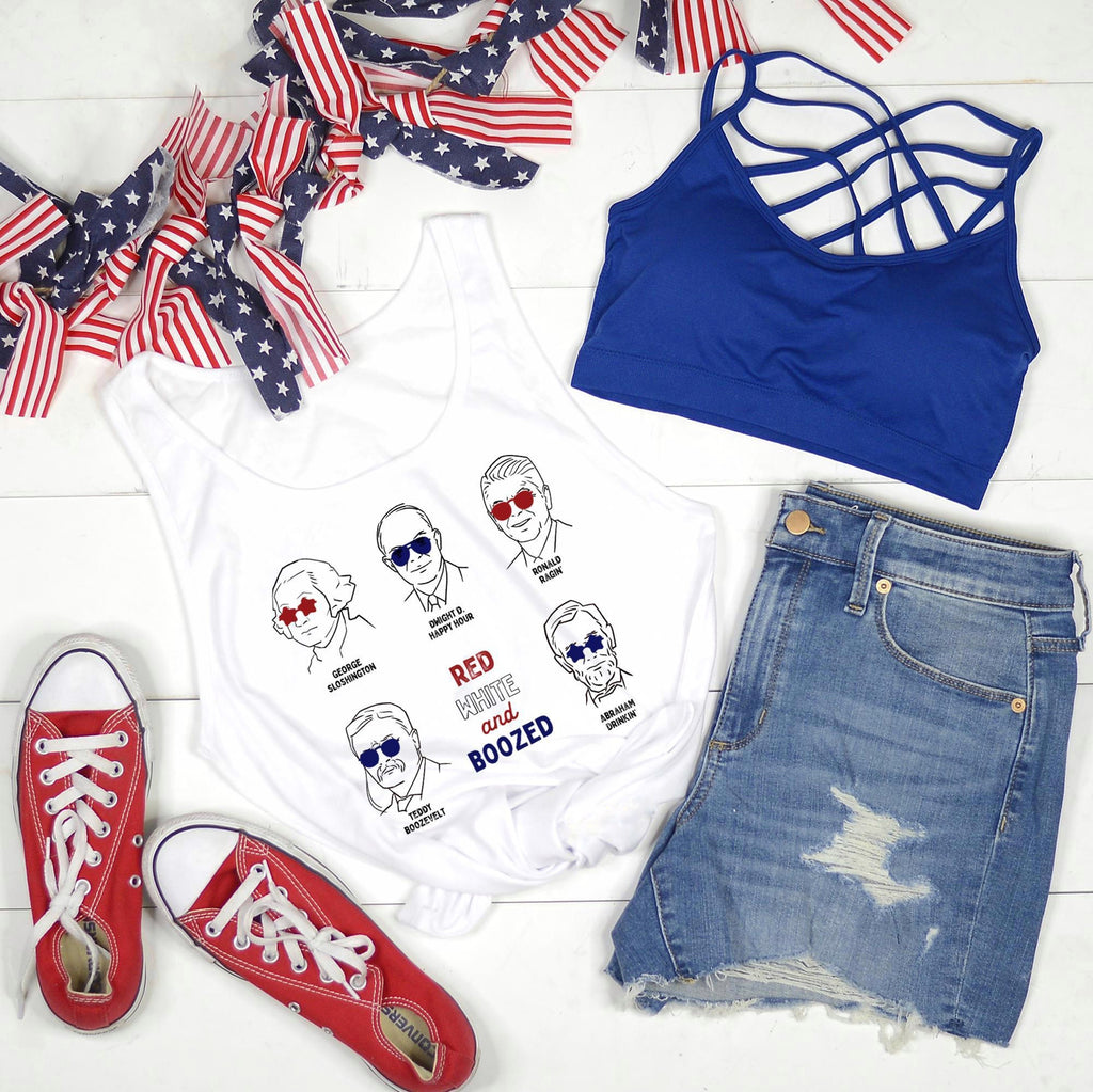 Red White & Boozed (Tank)