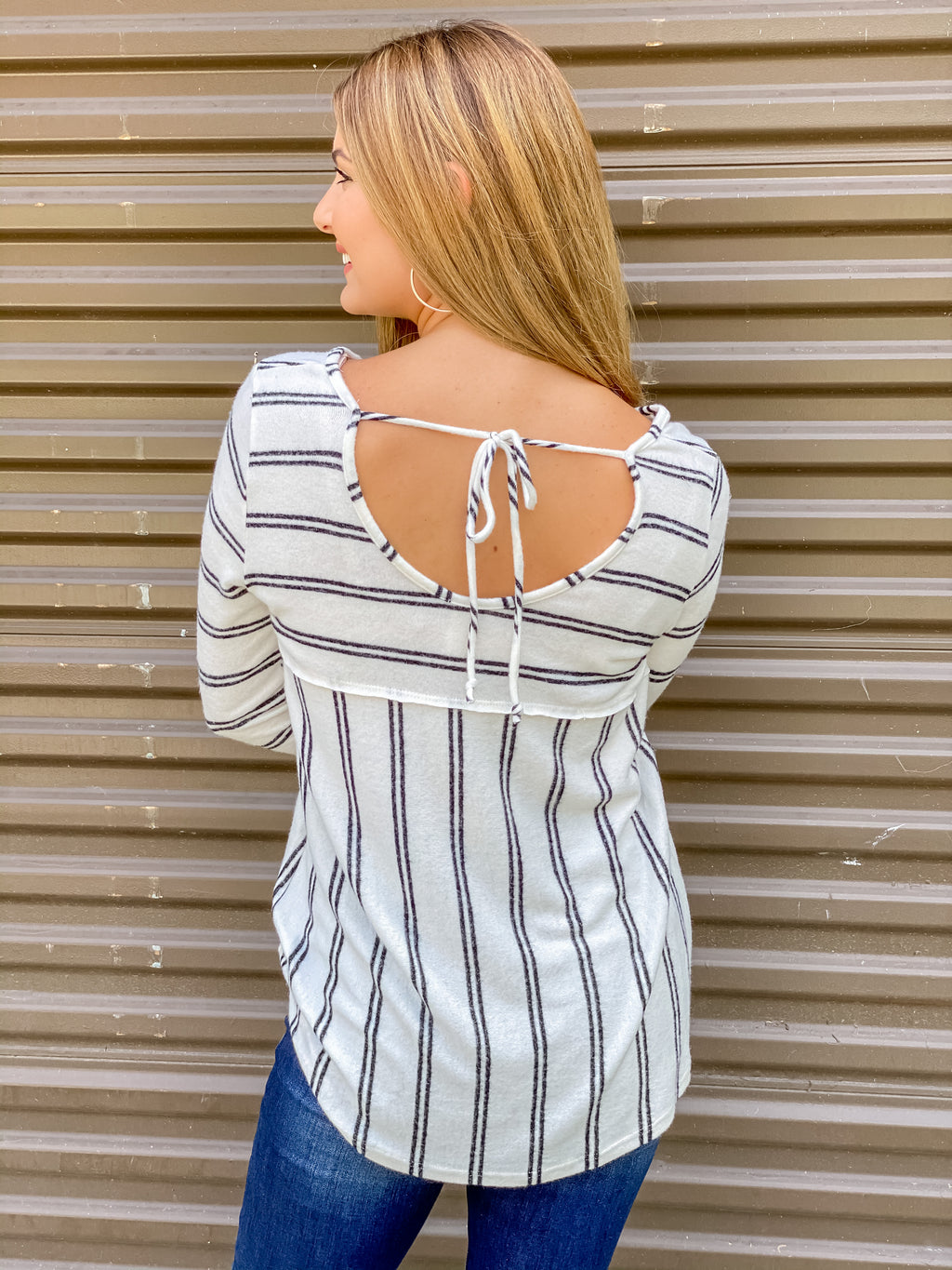 Ready to Go Striped Top