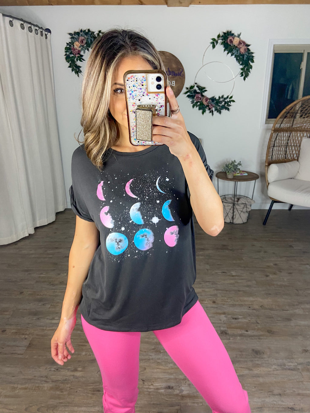 Love By the Moon Tee