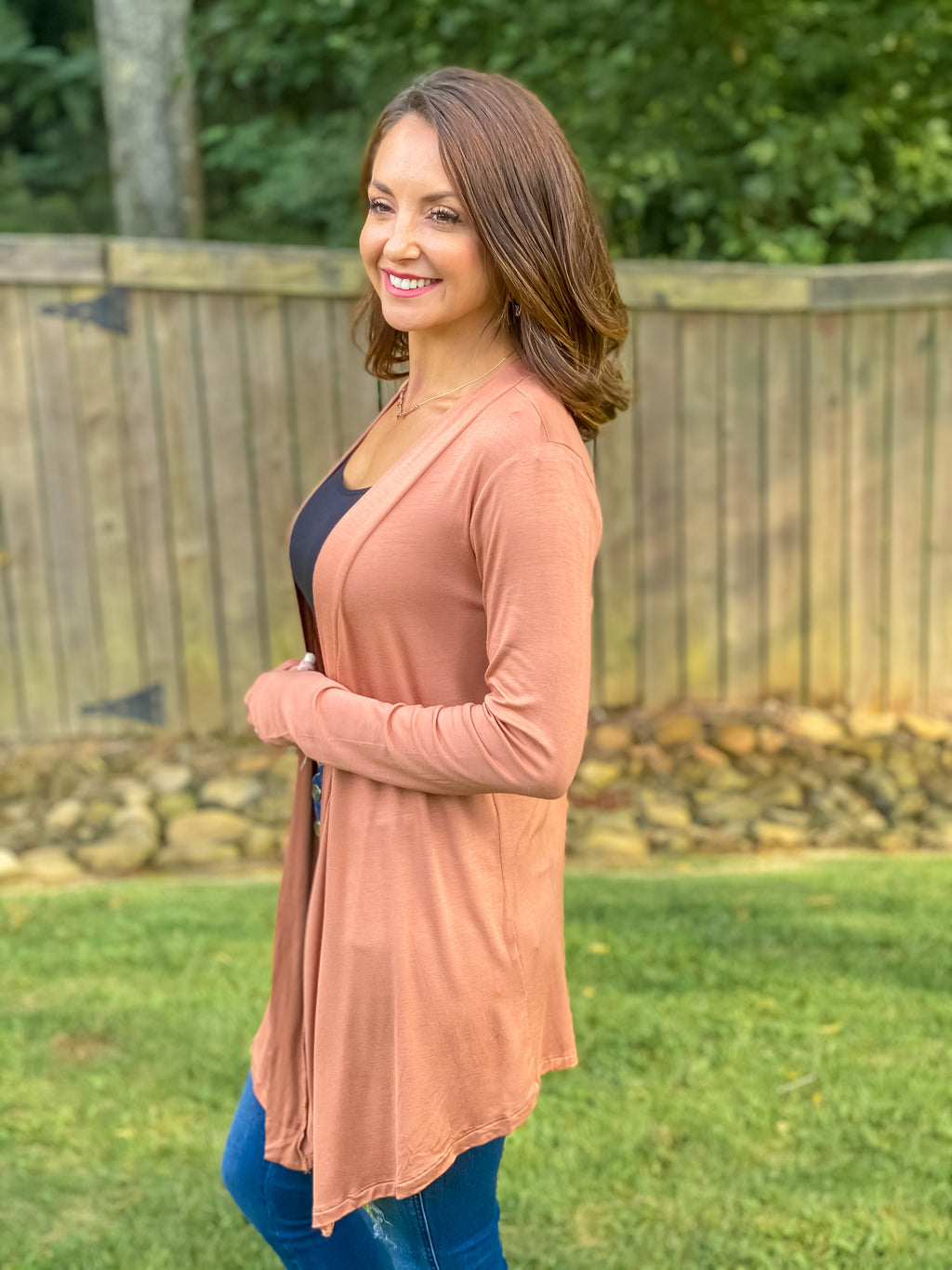 Count On Me Cardigan (Camel)