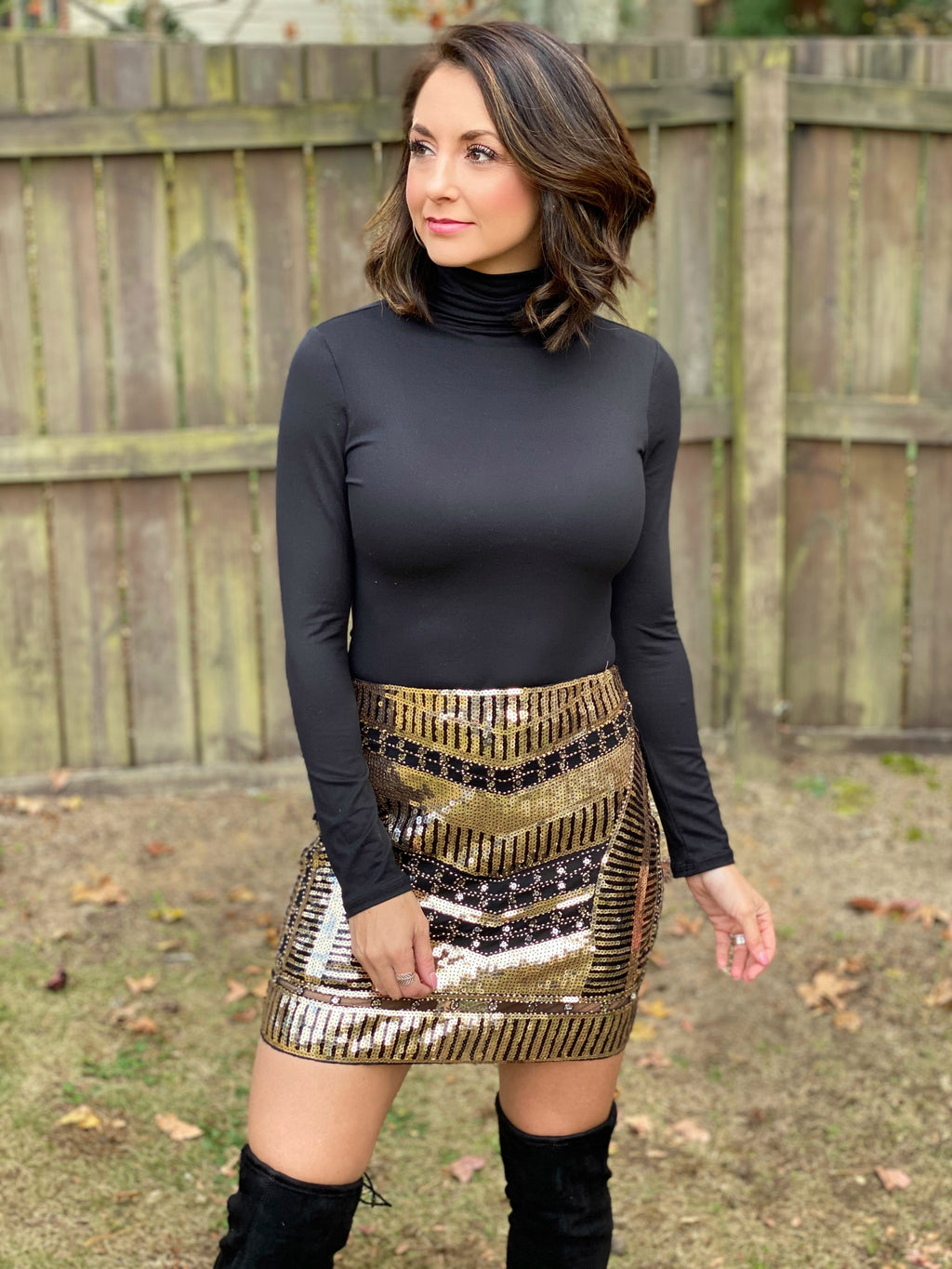 Born to Sparkle Skirt