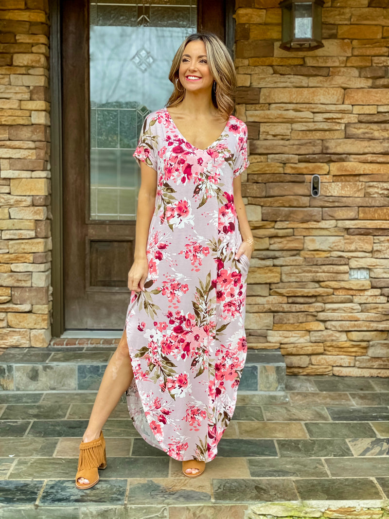 Blooming Beauty Maxi Dress