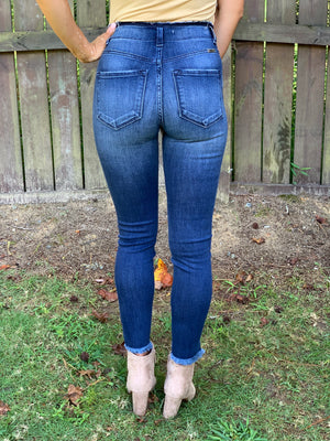 Fall in Love Jeans (Dark Wash)