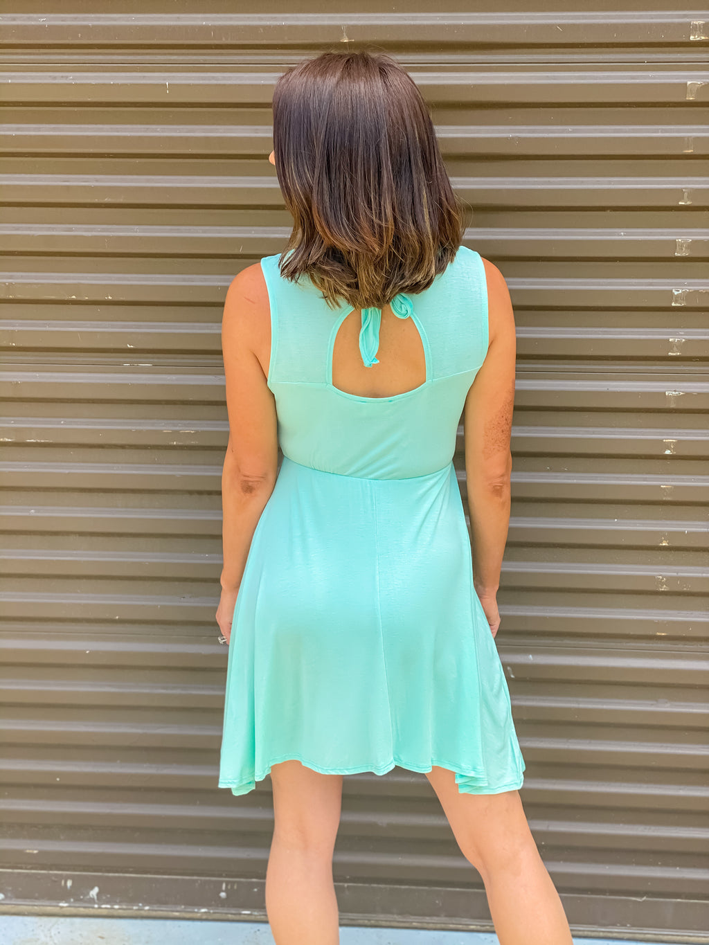 Mint For More Dress