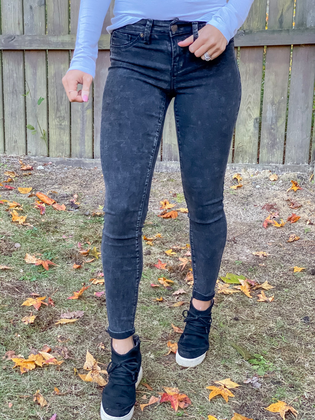 The Perfect Fit Mineral Wash Jeans