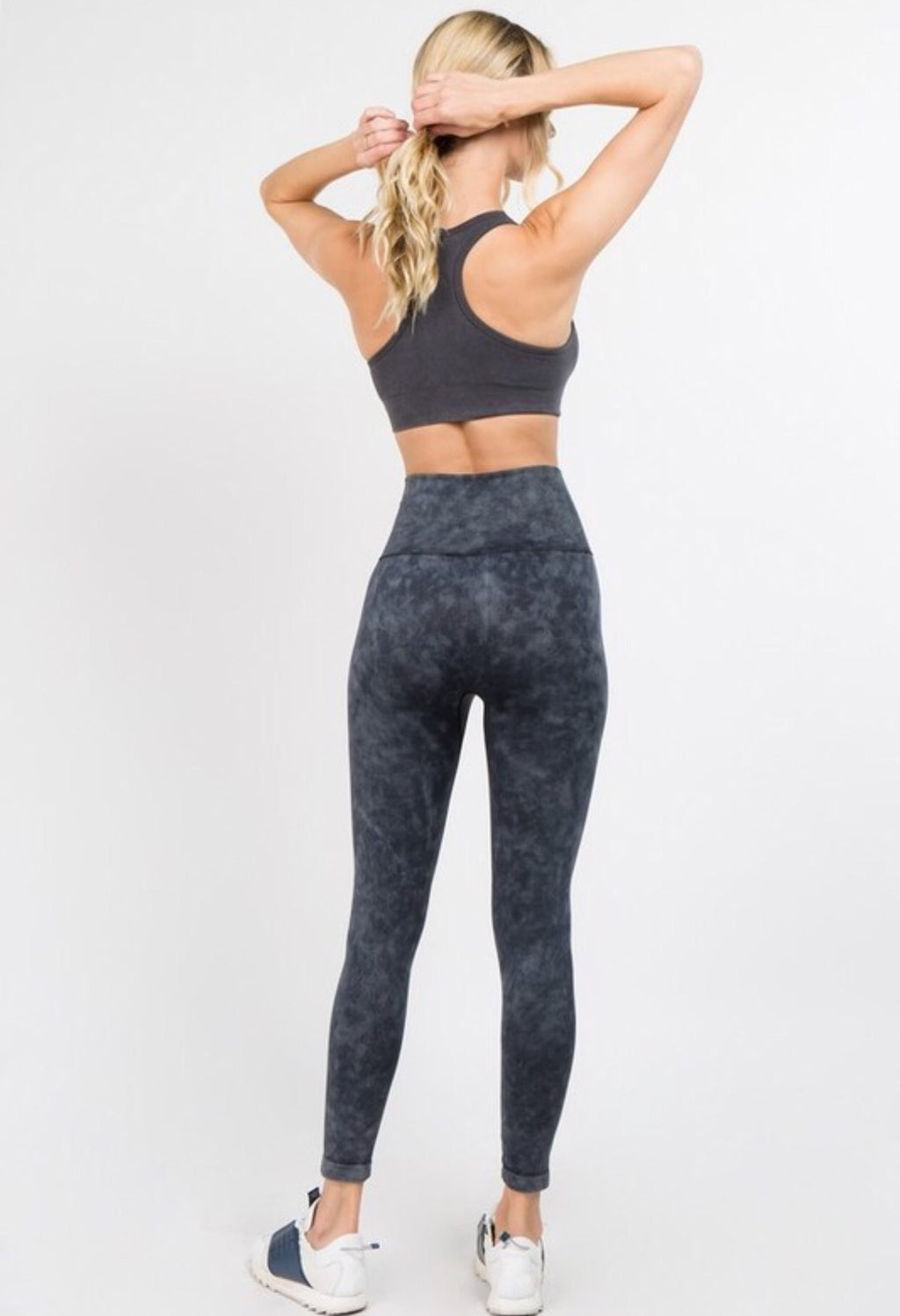 Mineral Wash Workout Leggings