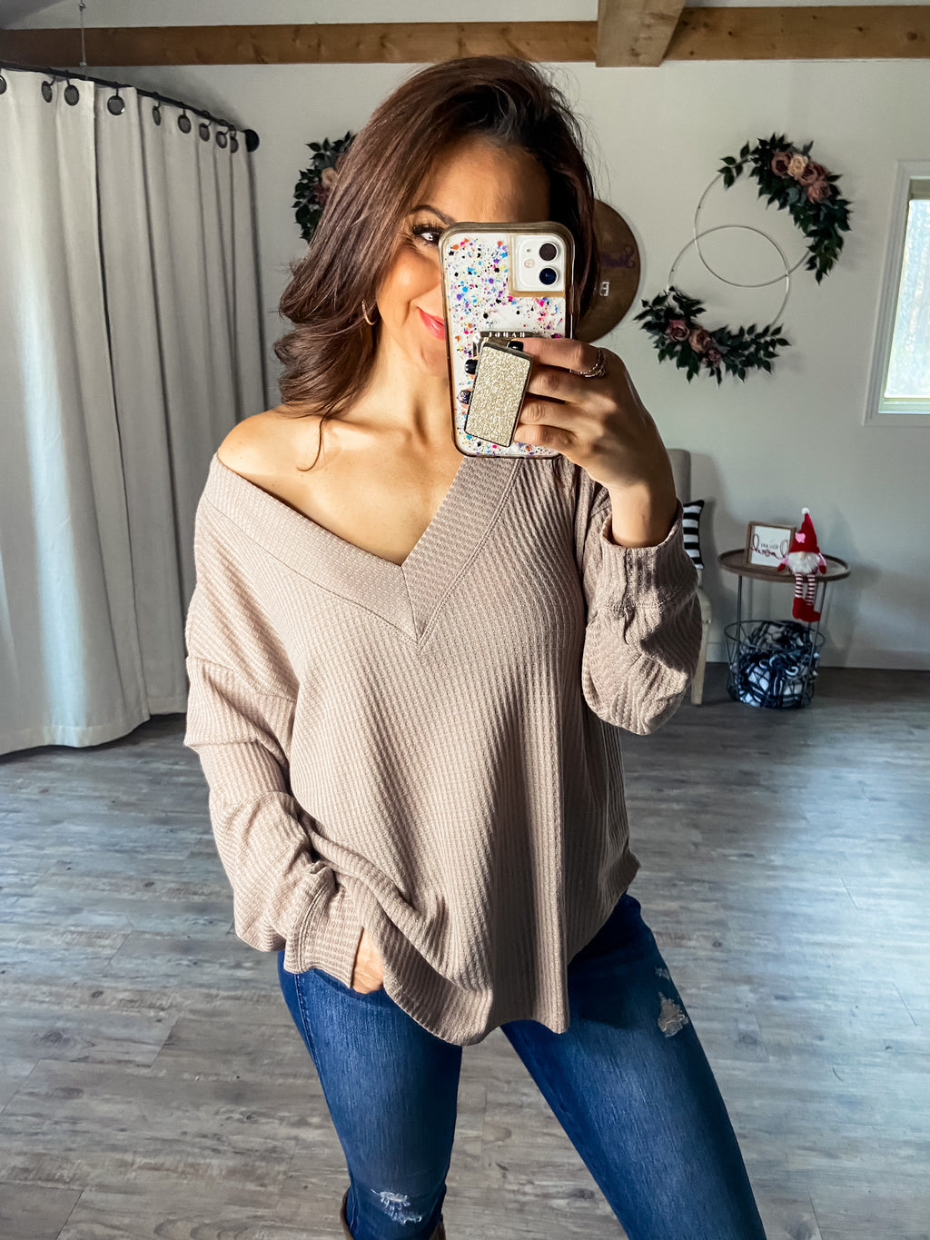 Something To Love Top (Beige)