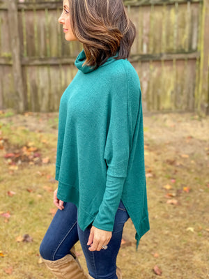 Forever Mine Sweater (Hunter green)