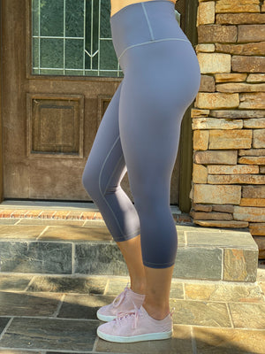 The Perfect Capri Legging (Gray)