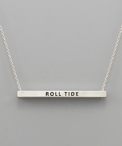 Roll Tide Gameday Necklace