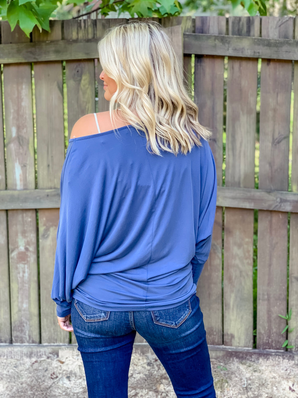 The Brittany Top (Indigo)