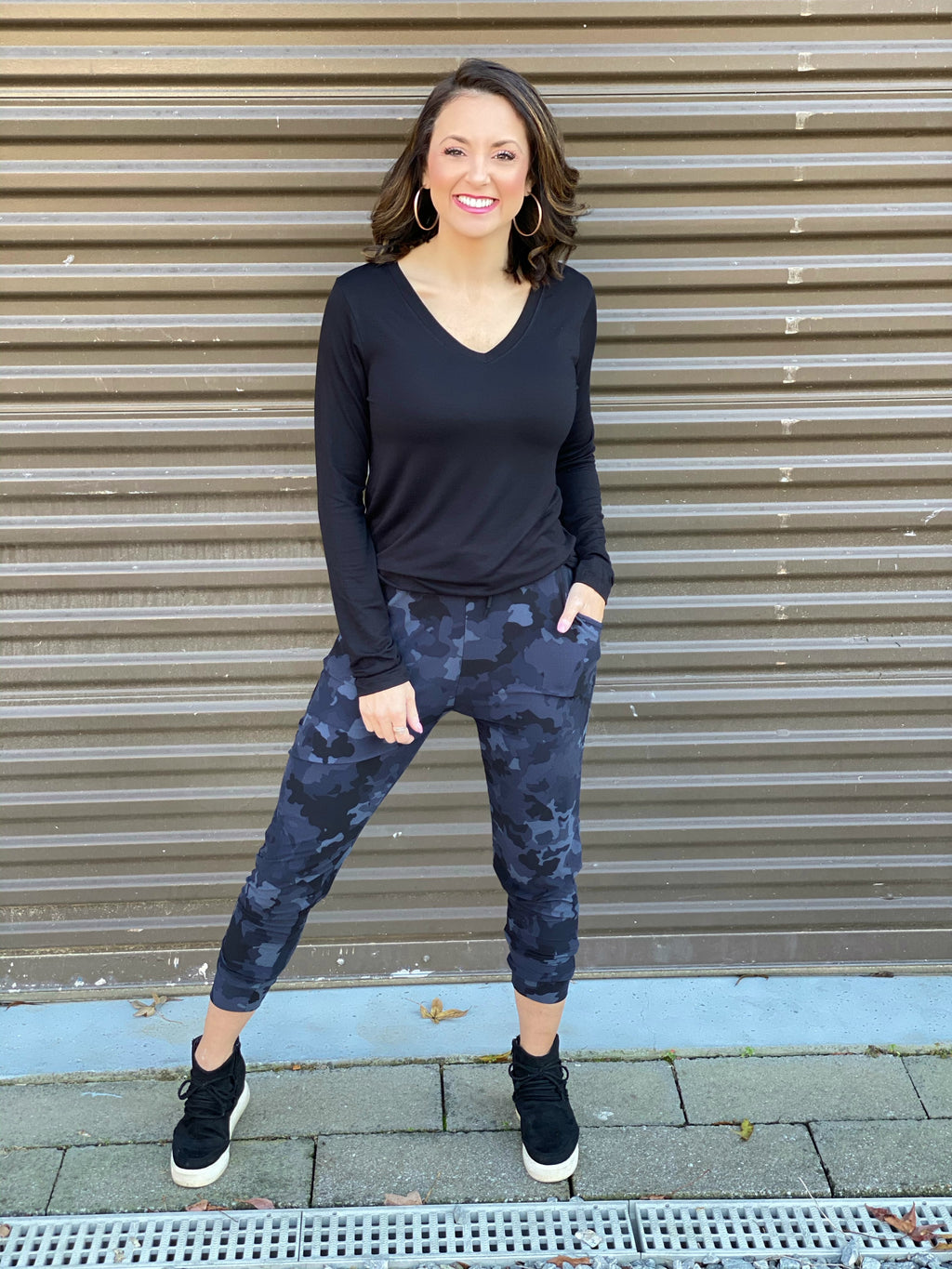 Jenell Camo Butter Joggers