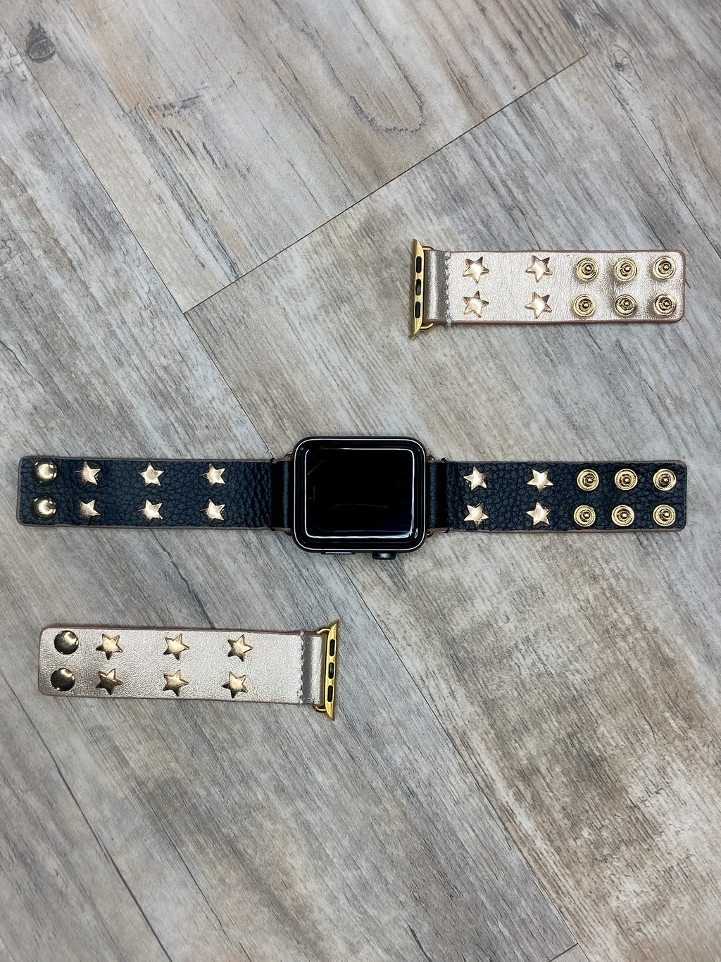 Star Leather Apple Watch Bands