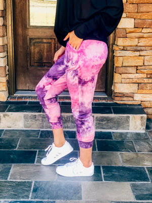 Hippie Vibes Butter Joggers
