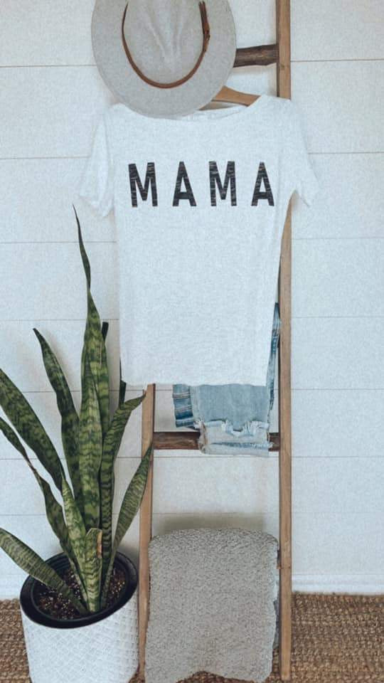Mama Tee (off the shoulder)