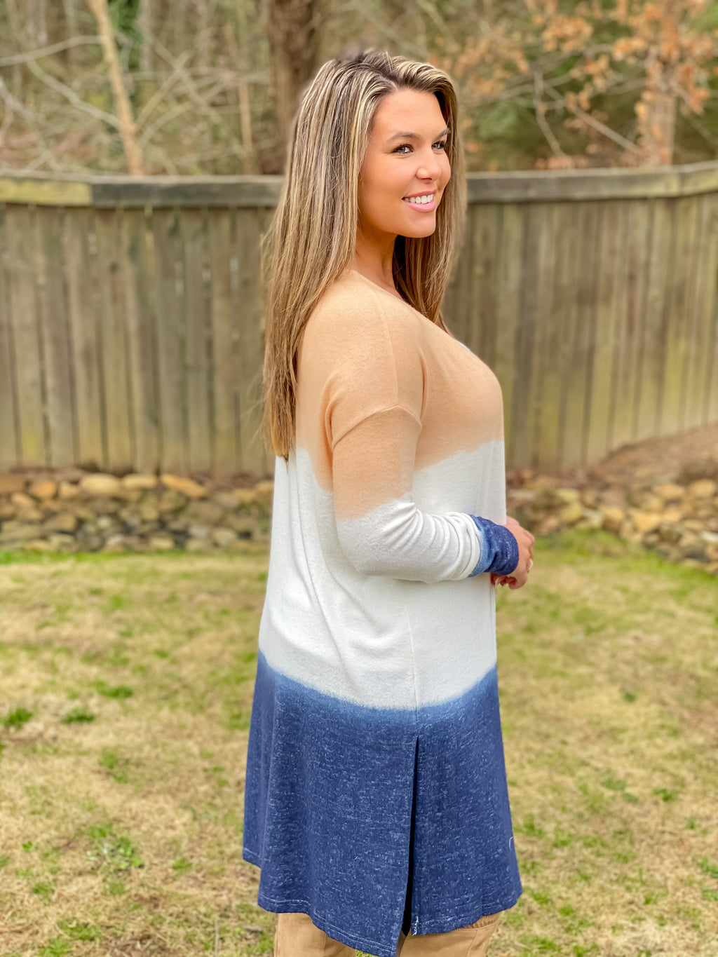 Better Together Ombré Cardigan