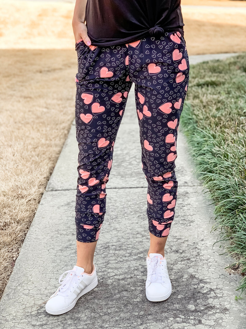 Valentine's Butter Joggers