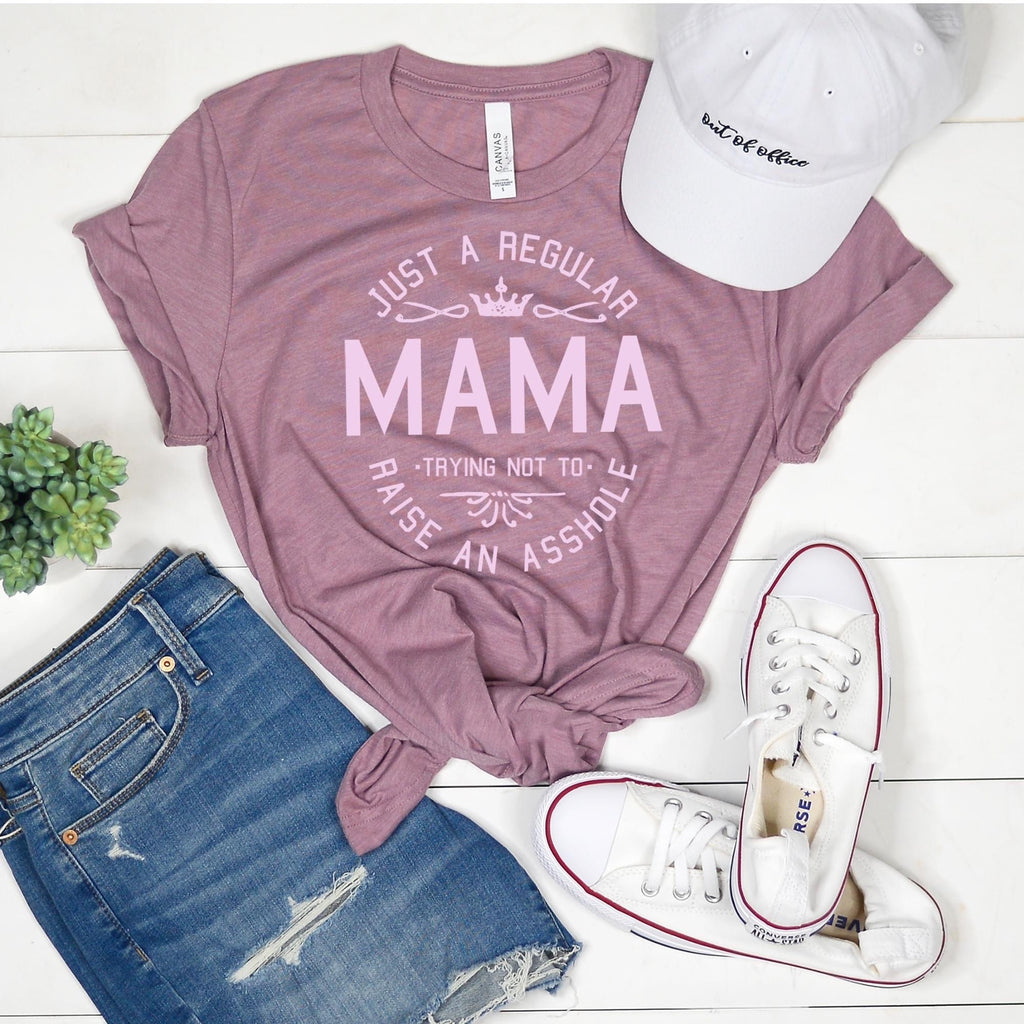 Regular Mama Tee (orchid)